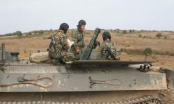 Артилеристите са на полево обучение