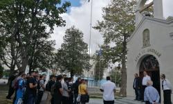Новата учебна година за гръцките студенти във ВВМУ започна с водосвет
