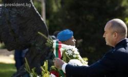 В София отбелязаха празника на военния парашутист