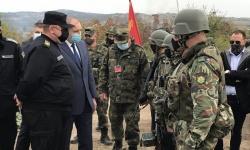"""На """"Балканска стена 2020"""" бяха спазени противоепидемиологичните мерки, казва министър Каракачанов"""