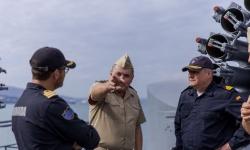 """Испански контраадмирал хвали екипажа на """"Смели"""""""