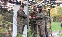 Втора механизирана бригада чества празника на Сухопътните войски