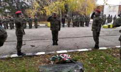 Военно формирование в Плевен отбеляза 73 години от създаването си