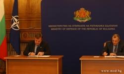 В Министерството на отбраната вчера бе подписан договор за модернизация на танковете Т-72