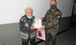 Един от най-младите ветерани от войната получи юбилеен медал