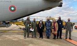 Военнослужещи и техника от ВВС изпълниха успешно специализираната задача