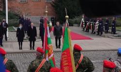 Президентът и българският патриарх участваха в Традиционния Богоявленски водосвет на бойните знаменa