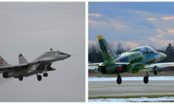 Първи полети за 2021 година с МиГ-29 и L-39ZA