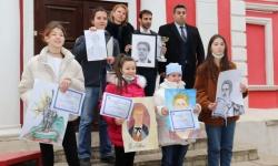 """Обявиха победителите в конкурса за рисунка """";Моят Левски"""", организиран от Военен клуб - Русе"""