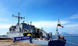 """Минен ловец """"Цибър"""" се включи в противоминното учение на ВМС на Гърция """"АРИАДНЕ – 2021"""""""