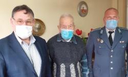 Ветеранът от Шумен д-р Велчо Радев на 99 години