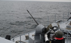 Военноморските сили провеждат учения на море и във въздуха