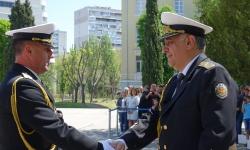 Наградиха военнослужещи във ВВМУ за празника