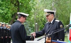 Морско училище почете светите братя Кирил и Методий, връчиха награди