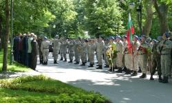 Пловдив почете  Деня на Ботев и загиналите за свободата на България.