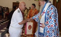 Българската православна църква удостои с високо отличие командира на ВМС
