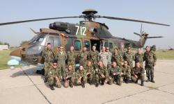 Алпийците от Смолян преминаха подготовка за десантиране от вертолет