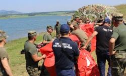Военнослужещи се подготвят за овладяване и преодоляване на последствията от пожари и наводнения