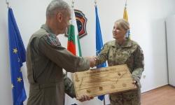 В авиобаза Граф Игнатиево започна съвместната подготовка на български и американски военнослужещи