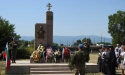 С почетен караул от СКСО в гр.Пазарджик бе открит паметник на генерал Николай Брок