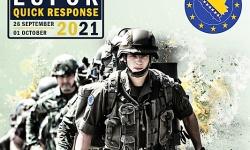 """Военнослужещи от Сухопътните войски  участват в оперативна тренировка на операция """"Алтеа"""""""